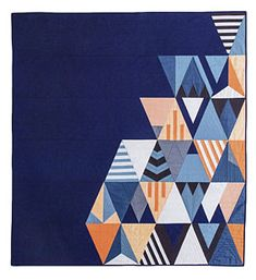 Additional Images of Modern Triangle Quilts by Rebecca Bryan - ConnectingThreads.com