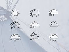 Weather Icons 2.0 - 365psd