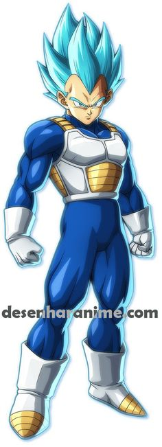 View an image titled 'Super Saiyan Blue Vegeta Art' in our Dragon Ball FighterZ art gallery featuring official character designs, concept art, and promo pictures. Dragon Ball Z, Blue Dragon, Goku E Vegeta, Dbz Characters, Character Design, Cartoon, Deviantart, User Profile, Fanfiction Net