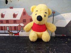 Vintage Winnie the Pooh - Gund - Sears - Stuffed Plush Animal Toy - Walt Disney Loved Collectible Teddy Bear