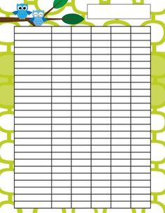 Free Printable Student Checklist  Great For Homework Stations