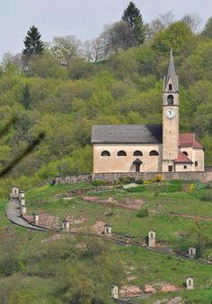 Chiesetta di San Zenone a Zorzoi - Dolomites, province of Belluno, Veneto, Northern Italy