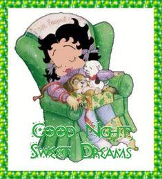 bettyboop goodnights for facebook | Betty Boop Christmas Good Night Photo by kpilkerton | Photobucket