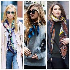 Lenços fashion
