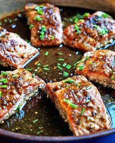 Low FODMAP Recipe and Gluten Free Recipe - Thai steamed salmon   http://www.ibssano.com/low_fodmap_recipe_thai_salmon.html