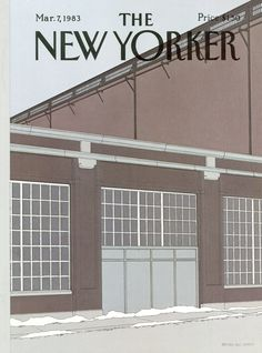 The New Yorker - Monday, March 7, 1983 - Issue # 3029 - Vol. 59 - N° 3 - Cover by : Gretchen Dow Simpson