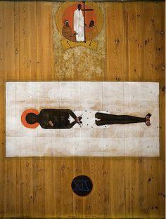 Shroud of Christ icon. Byzantine Icons, Byzantine Art, Religious Icons, Religious Art, African Mythology, Jesus Art, Catholic Art, Art Icon, Art Institute Of Chicago