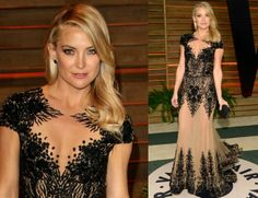 Kate Hudson in Zuhair Murad at the 2014 Oscars after party