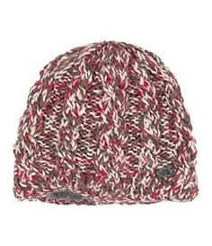The North Face Fuzzy Cable Beanie.  Our favorite hat of the Season! $35