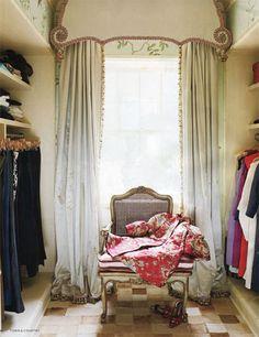 dressing room . . .
