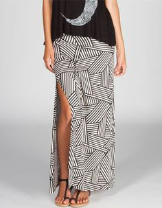 #Tilly`s                  #Skirt                    #FULL #TILT #Geometric #Print #Maxi #Skirt          FULL TILT Geometric Print Maxi Skirt                                          http://www.seapai.com/product.aspx?PID=422014