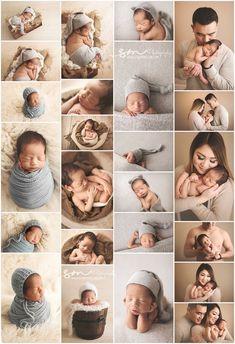 Neutral boy newborn session