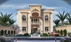 come and design your villa or building or hotel or interior decor or exterior design with us we have fantastic architectural designs and plans and we will make your dream We are professional in our work and our prices are very competitive Exterior Signage, Exterior Stairs, Exterior Cladding, House Paint Exterior, Exterior House Colors, Exterior Design, House Paint Color Combination, Front Elevation, My Collection
