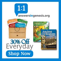 Answers In Genesis is 30% off everyday at Heats at Home Store!
