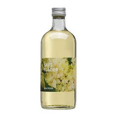 Elderflower concentrate from IKEA.  Delicious and different for alcoholic and non-alcoholic beverages.