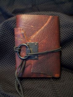 Reclaimed Burgundy Leather Handmade Travel by MgDesignSecondWind, $45.00