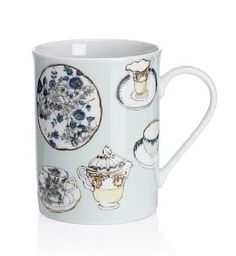 Amanda Luke's designs are also on mugs, available to buy from @Marks & Spencer! http://amandalukedesigns.blogspot.co.uk/
