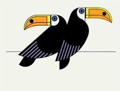Clifford Richards / Toucans print