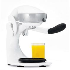 Fresh juice on the go! Get the Athena White Juice Press, available at the Food Network Store.