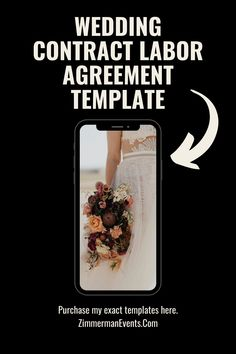 Freelance Agreement for Wedding Industry Contract Labor. If you are hiring freelancers or contract labor for your upcoming event, you need to protect yourself with a freelance contract! This freelance contract template will help protect your small business and also covers you and your client financially and legally. Outline your expectatons in the beginning with the exact freelance agreement for contract labor that I use in my own business. Fall Wedding Cakes, Wedding Cake Rustic, Wedding Cakes With Flowers, Event Planning Tips, Wedding Planning Checklist, Wedding Vendors, Wedding Events, Wedding Reception Chairs, Wedding Chair Decorations