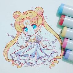 Buenas noches uwu #princessserenity #usagitsukino #sailormoon