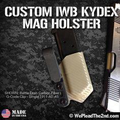 WPT2 Custom IWB Magazine Kydex Holster