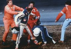 NASCAR fights - Cale Yarborough v. The Allison's (Bobby and Donnie)  Woohoo, I was there.