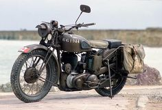 Beautiful example of a BSA M20.