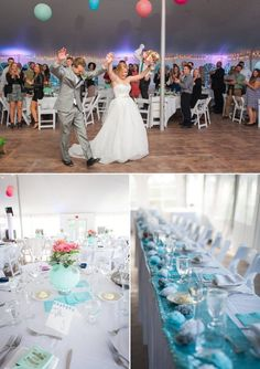The reception at the Canal Street Yacht Club cost $7,786 for rental, food and drinks. Photos by Photos by Reminisce Studio