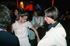 Brooke Shields and Jimmy McNichol dancing @ Studio 54