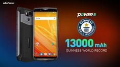 Ulefone Power 5 applies for a Guiness World Record with the battery capacity Big Battery, Guinness World, Latest Gadgets, World Records, New Technology, Sony, How To Apply, Samsung, Iphone