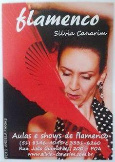 El Cajón Flamenco: Aulas de flamenco com Silvia Canarim em Porto Aleg...
