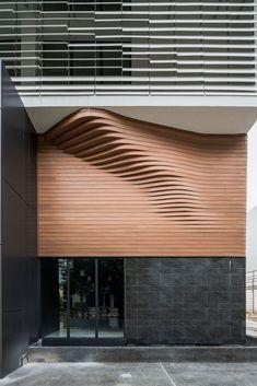 Modern wave-shaped design