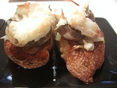 As Minhas Receitas: Tostas de Cogumelos e Queijo de Cabra