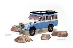 Toyota FJ55 Land Cruiser | papercruiser.com