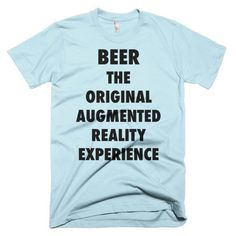 Beer - Augmented Reality Experience - Short sleeve men's t-shirt