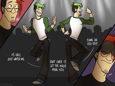 DanceClub AU Comic4 by cartoonjunkie.deviantart.com on @DeviantArt