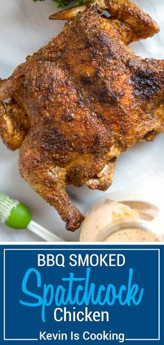 Grilled Whole Chicken, Smoked Whole Chicken, Grilled Meat, Smoked Pork, Walnut Chicken Recipe, Smoked Chicken Recipes, Chicken Smoker Recipes, Pellet Grill Recipes, Grilling Recipes