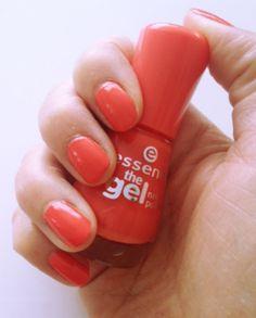 essence the gel nail polish mandarine bay