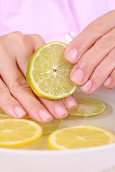 How To Whiten Your Nails?: Here are some tips to whiten nails. Before that, let us look at some basic nail care tips. How To Whiten Your Nails?: Here are some tips to whiten nails. Before that, let us look at some basic nail care tips. Beauty Care, Diy Beauty, Beauty Hacks, Beauty Advice, True Beauty, Lemon Health Benefits, Jessica Smith, Nail Art At Home, Nail Care Tips