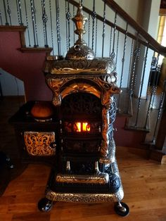 1000 Images About Antique Wood Stoves On Pinterest