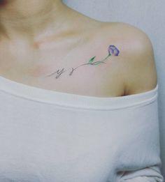 Initial tattoo 32