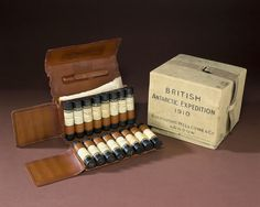 Medical kit used by Ernest Shackleton, London, England, 1907 |