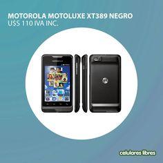 No te pierdas lo nuevo de Motorola Motoluxe XT389 !!!