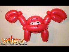 Crab Balloon Animal   ChiTwist Chicago Balloon Twisting