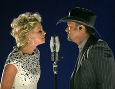 """Faith Hill and Tim McGraw, """"i need you"""""""