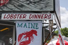 Spragues Lobster, Wiscasset, ME  Just across the street from Red's Eats.