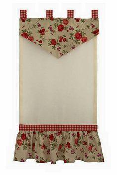 Porch Curtains, Country Curtains, Grey Curtains, Rustic Curtains, Kitchen Curtains, Rideaux Design, Cuisines Diy, Bathroom Window Treatments, Crochet Towel