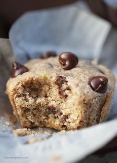 Chocolate chip zucchini muffins - I Heart Nap Time