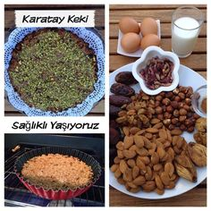 Sekersiz, unsuz Karatay Keki'ni tüm dostlariniza, çocuklariniza ve seker h… – Tatlı tarifleri – Las recetas más prácticas y fáciles Turkish Recipes, Raw Food Recipes, Diet Recipes, Cake Recipes, Healthy Recipes, Healthy Cake, Healthy Sweets, Healthy Snacks, Healthy Eating